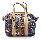 Стильная женская сумка с цветочным принтом OFYA art. 1709