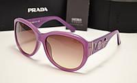 Женские солнцезащитные очки Prada spr 22 qs сиреневый цвет, фото 1