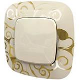 Рамка 1 пост. Нарцисс золото, Legrand Valena Allure 754351, фото 3