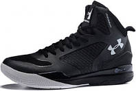 Мужские Баскетбольные кроссовки Under Armour Curry 2, андер армор кюрі 2 черные с белым