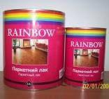 """Лак Паркетный """"RAINBOW"""" Полуматовый Банка 2,5л."""