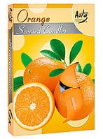Ароматические свечи-таблетки апельсин Bispol p15-63