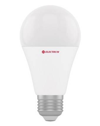 Светодиодная лампа Electrum A-LS-0147 A60 15W E27 3000K PA LS-22 Код.58712, фото 2