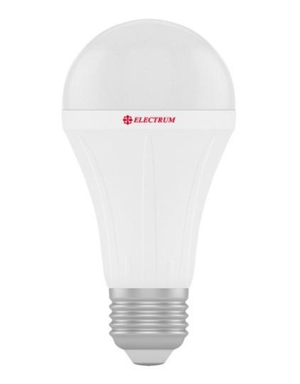 Светодиодная лампа Electrum A-LS-0441 A60 18W E27 3000K PA LS-28 Код.58711