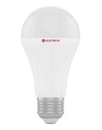 Светодиодная лампа Electrum A-LS-0441 A60 18W E27 3000K PA LS-28 Код.58711, фото 2