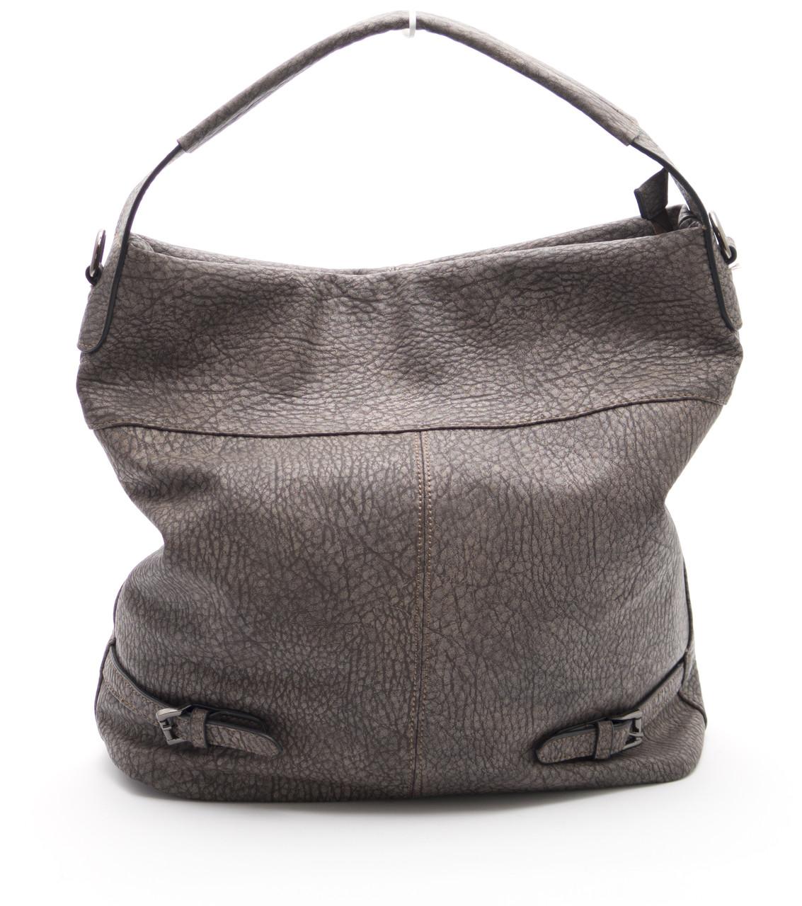Вместительная женская сумка BALIFORD art.002 коричневая