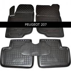 Коврики салона Avto-Gumm PEUGEOT P 207