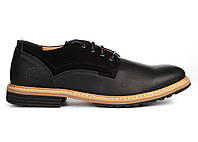 Туфли мужские Timberland Borg (тимберленды, тимберленд) черные
