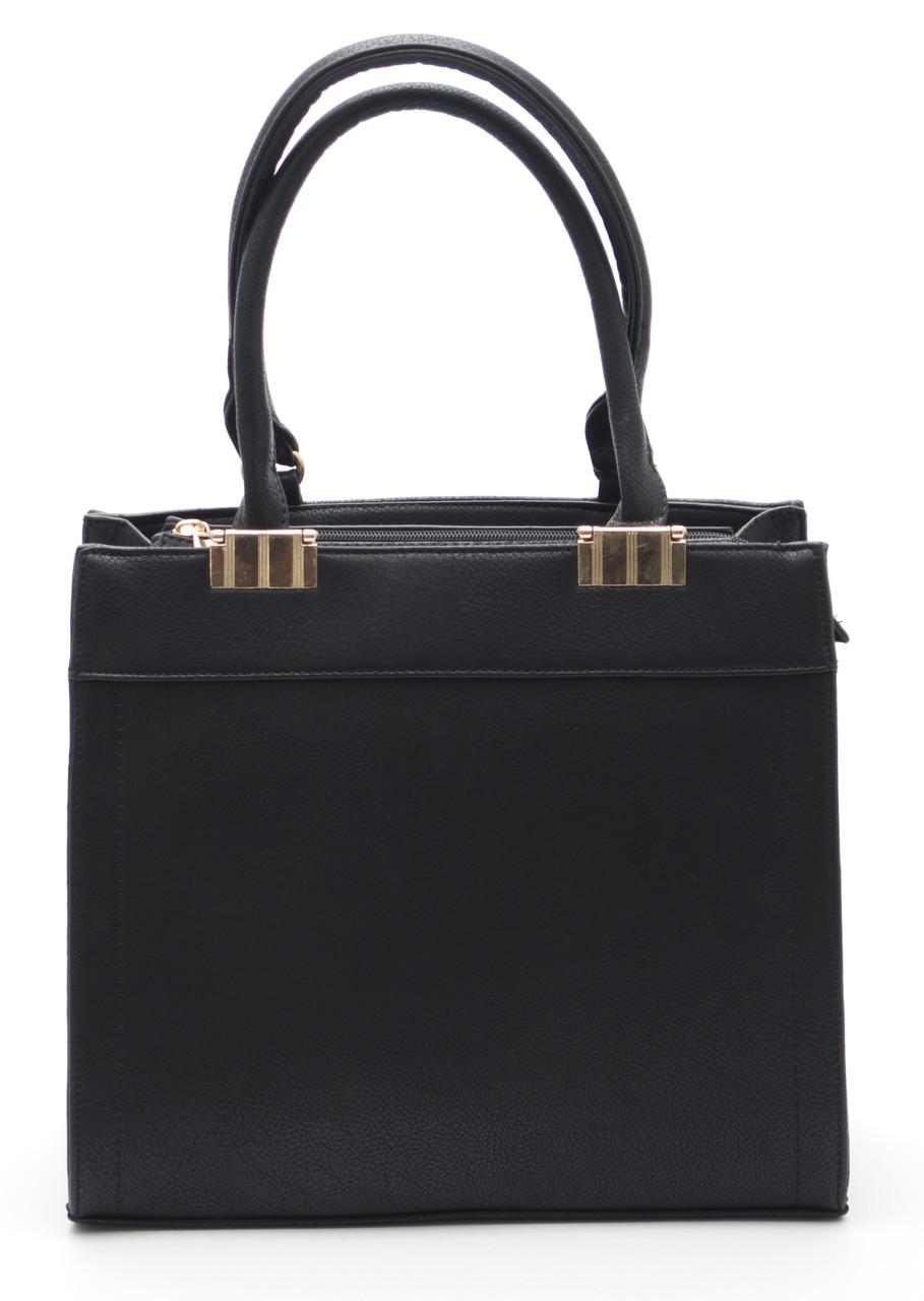 Аккуратная черная женская сумочка Б/Н art.9009