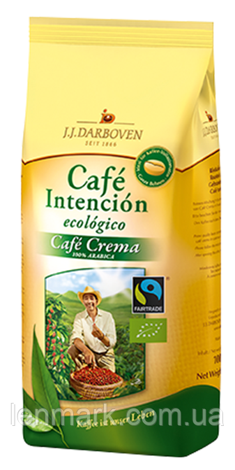 "Кофе в зернах JJ Darboven Intencion "" Cafe ecologico"" 100 % арабика, 500 г"
