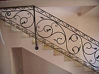 Перило кованое для лестницы