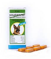 Витамины кальций-мультивит таб №6 для собак и кошек ГОЛАШФАРМА