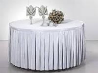 Фуршетная юбка  Модель 4  Белая