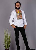 Мужская вышиванка в этническом стиле