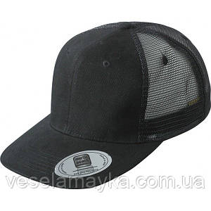 Черный снепбек с сеточкой (Snapback)
