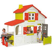 Игровой двухэтажный домик Smoby Duplex 320023
