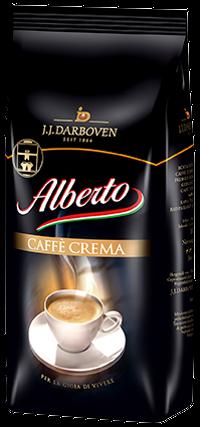 "Кофе в зернах JJ Darboven Alberto ""Caffe Crema"" 100% арабика, 1 кг"