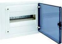 Щит внутренней установки с прозрачной дверью 12 мод.  HAGER GOLF VF112TD
