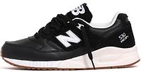Мужские кроссовки New Balance 530 Black (Нью Баланс) черные