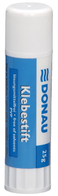 Клей-карандаш 25г PVP DONAU