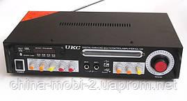 Рэковый усилитель мощности AMP UKC KA-123 c Karaoke, фото 2