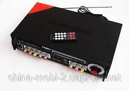 Рэковый усилитель мощности AMP UKC KA-123 c Karaoke, фото 3
