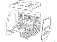 Каталог запчастей#Шумоизоляционные материалы стандартной кабины