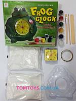 Гипс для лепки часы-лягушка 666-701