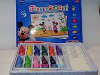 Пальчиковые краски Disney 12 цветов FP6602