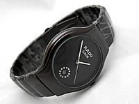Стальные часы RADO Jubile - high-tech, цвет циферблата черный, графитовый цвет, черные