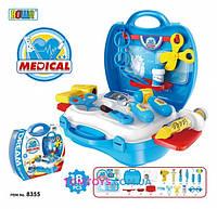 Игровой набор доктор в чемодане 8355