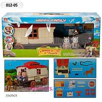 Игровой набор дом трейлер с лошадкой и мебелью Happy Family аналог Sylvanian Families 012-5