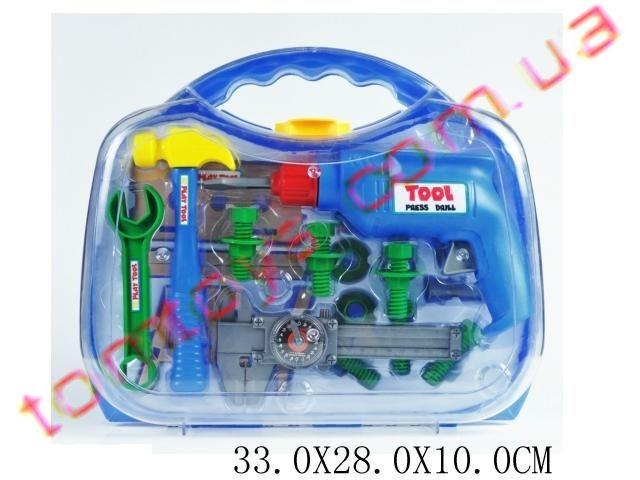 Набор детских инструментов в чемодане T206  -  МАГАЗИН ИГРУШЕК TOMTOYS              в Одессе