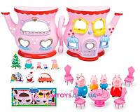 Игровой набор Домик Чайник Свинки Пеппы 666-006-1