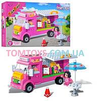 Конструктор BanBao Магазин мороженого 6117