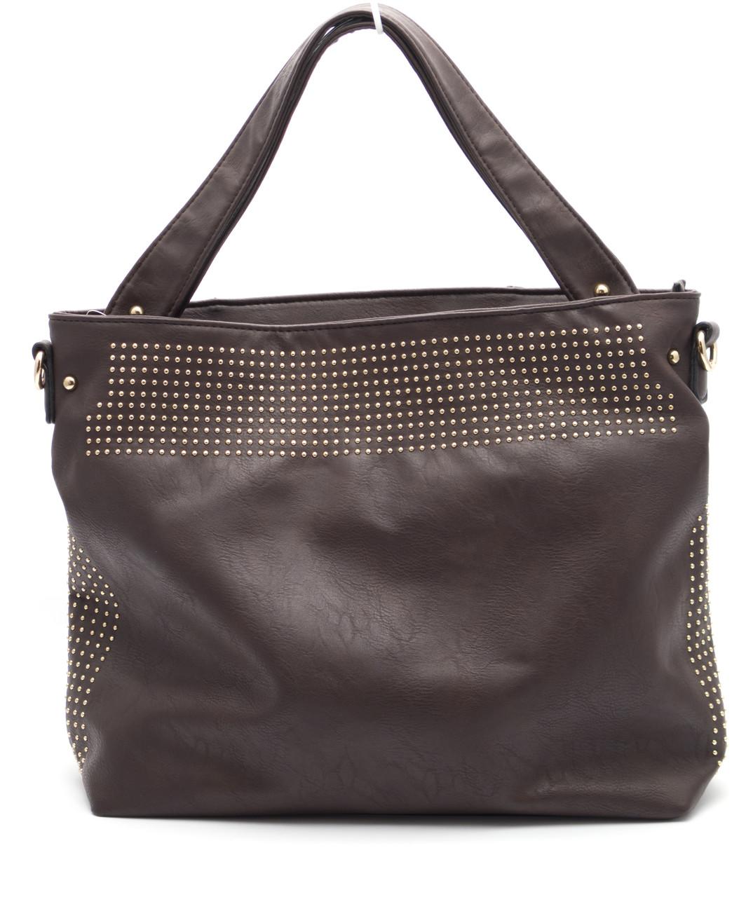 Стильная коричневая женская сумка Б/Н art. 710