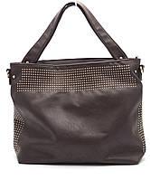 Стильная коричневая женская сумка Б/Н art. 710, фото 1