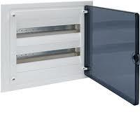 Щит внутренней установки с прозрачной дверью 36 мод.  HAGER GOLF VF218TD