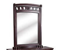 Зеркало Флоренция массив дуба (каштан)