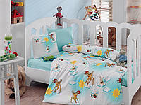 """Детское постельное бельё в кроватку Cotton Box ранфорс """"Bambiş"""""""