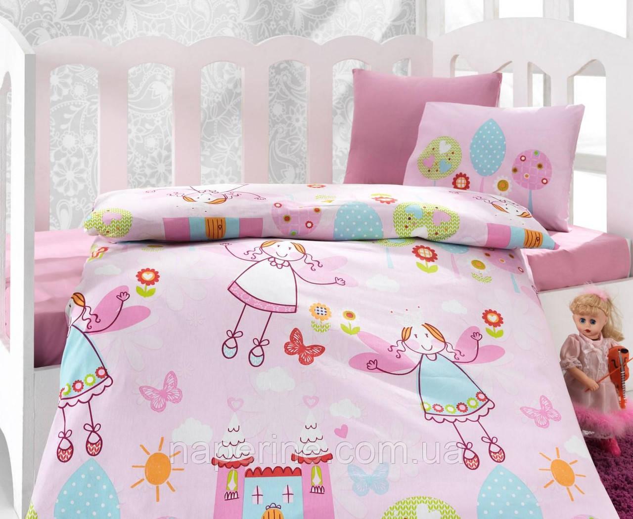 """Детское постельное бельё в кроватку Cotton Box ранфорс """"Masal"""""""