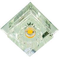 Светильник со светодиодами Feron 4415 JD55 COB 10W 3000K прозрачный