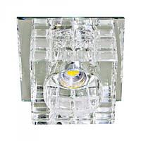 Светильник со светодиодами Feron 4414 JD106 COB 10W 3000K прозрачный