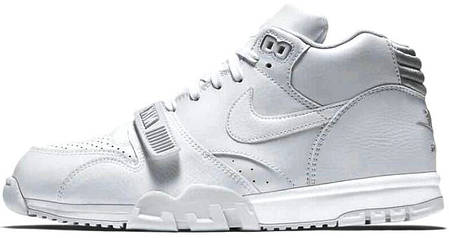 Мужские кроссовки Nike Air Trainer 1 MID SP Fragment 806942-110, Найк Аир Трейнер, фото 2