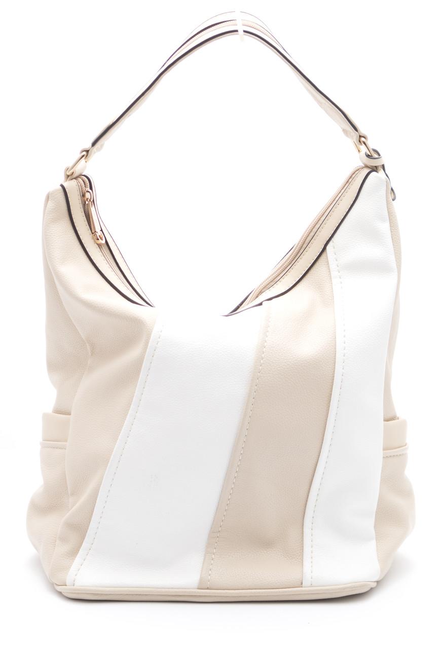 Красивая женская сумочка светлых тонов Б/Н art. 7072
