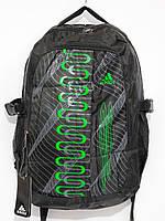 Рюкзак adidas зеленый спираль, фото 1