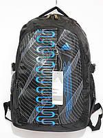Рюкзак adidas синий спираль, фото 1