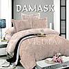 Комплект постельного белья Поплин Дамаск 005
