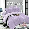Комплект постельного белья Поплин Дамаск 006