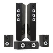 Комплект акустики для домашнего кинотеатра Jamo S628 HCS Black Ash